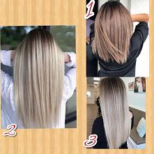 Dziewczyny doradźcie mi proszę jaki kolor mam zrobić 1,2 czy 3? Który kolor według was jest tym najlepszym odcieniem?