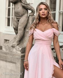 Sukienka dla druhny z kolek...