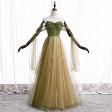 Piękne Szampan Sukienki Wieczorowe 2020 Princessa Frezowanie Cekiny Bez Ramiączek Bez Rękawów Bez Pleców Długie Sukienki Wizytowe