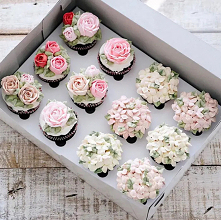 Muffinki kwiatki