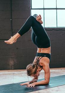 Yoga zawsze wydawała mi się mało wymagająca... czas zmienić zdanie :)