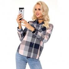 Modna koszula w kratę do pracy do kupienia w sklepie Pradlo