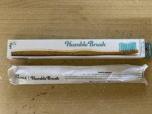 Bambusowa szczoteczka do zę...