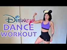 DISNEY DANCE WORKOUT (PART 1) | Cardio Workout to Disney Songs (Moana, Aladdi...