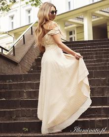 Jasna sukienka na poprawiny...