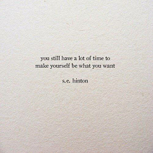 A lot of time