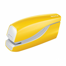 Zszywacz elektryczny Leitz WOW w soczyście żółtym kolorze <3