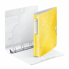 Segregator ringowy Leitz WOW w soczyście żółtym kolorze <3