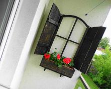 Balkonowa okiennica – diy. ...