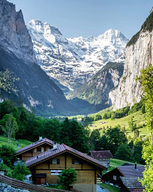 ... Dolina Lauterbrunnental...