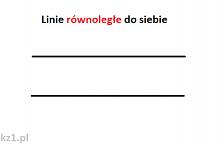 Linie prostopadłe i linie r...