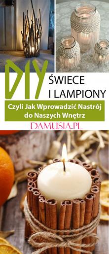 DIY Lampiony i Świece – Czy...