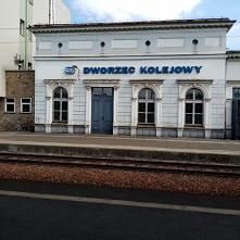 Dworzec Kolejowy w Sosnowcu.
