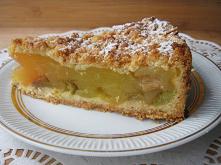 Ciasto półkruche z rabarbar...