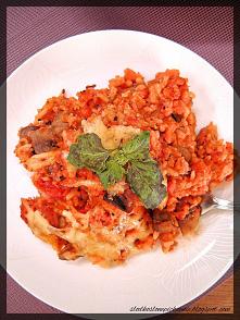 Zapiekanka ryżowa z mięsem ...