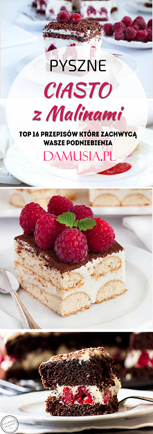 Pyszne Ciasto z Malinami – TOP 16 Przepisów Które Zachwycą Wasze Podniebienia