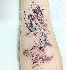 Tatuaż syrena