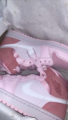 Śliczne różowe Jordany