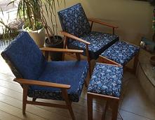 odnawianie starych foteli k...