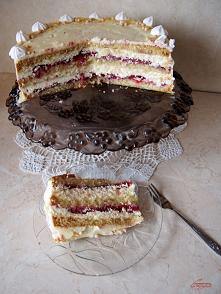 Tort rafaello z truskawkami