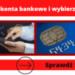 Wybierz konto bankowe z PRE...