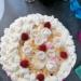 Tort śmietanowy z fruzelina maliniwa