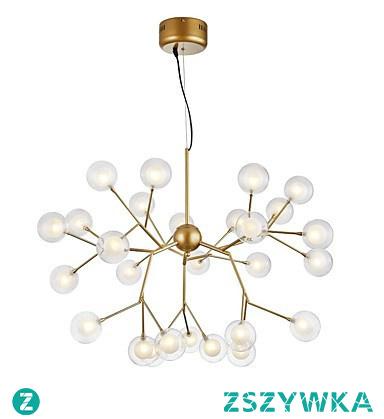 Sputnik Chandelier Ambient Light Painted Finishes Metal Glass Creative New Design