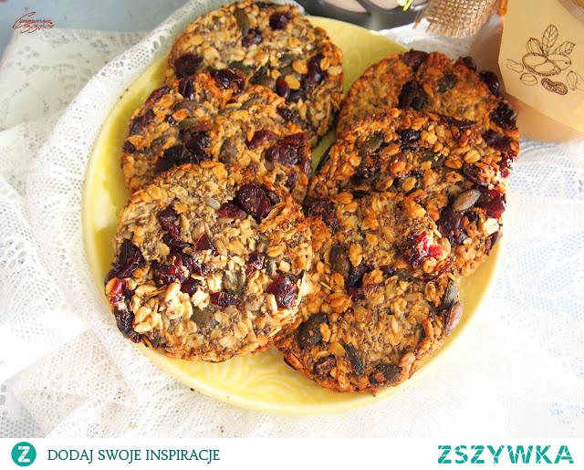 Ciasteczka owsiane bez cukru, laktozy i glutenu