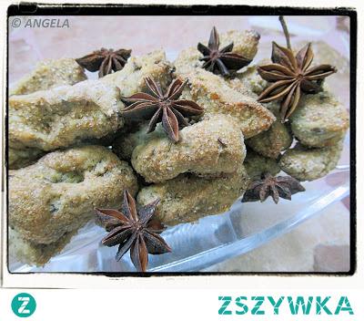 Anyżki na białym winie z włoskiego miasteczka Cascia - Aniseed Cookies from Cascia - Biscotti all'anice delle Apette di Cascia
