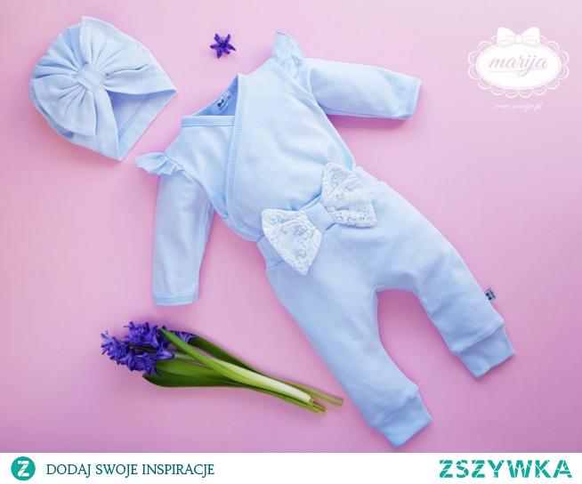 Wiosenne ubranka dla noworodków w sklepie internetowym fazymazy