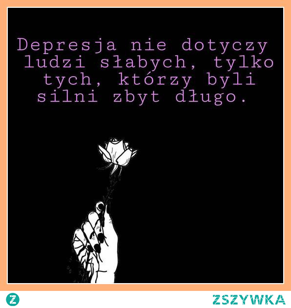 Depresja...