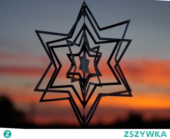 Gwiazda srebrna - zawieszka