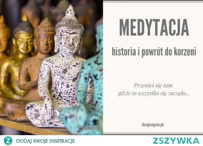 Kiedy powstała medytacja i skąd się wywodzi? Nowy wpis na blogu o  historii medytacji po kliknięciu w zdjęcie ❤
