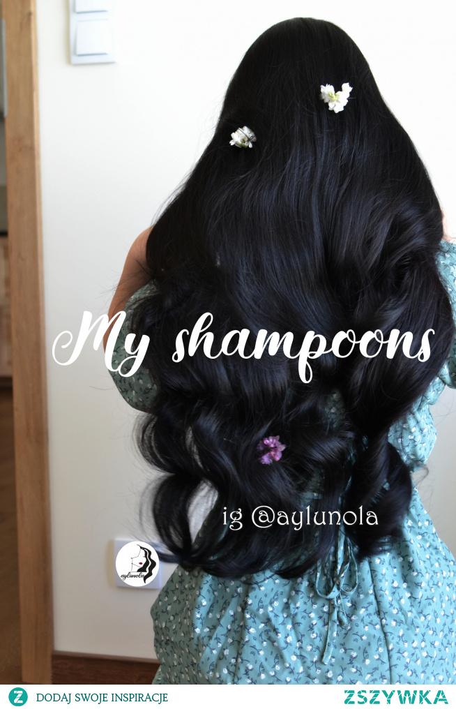 w komentarzu podrzucam link do posta na instagramie o szamponach i o tym czego w nich szukam a czego unikam : )