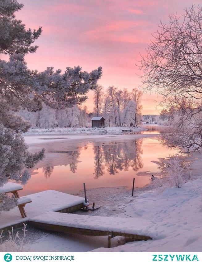 poranek w Szwecji