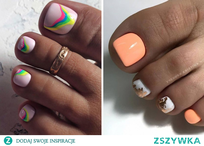 Tym razem mamy dla Was pomysły na pedicure! Sprawdźcie najlepsze pomysły na paznokcie u stóp na wiosnę 2020!