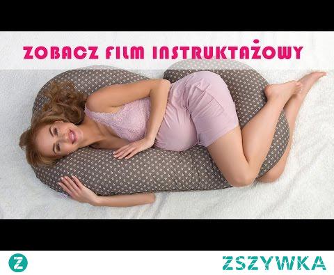 Poduszka dla kobiet w ciązy / Poduszka Ciążowa - Instrukcja użycia