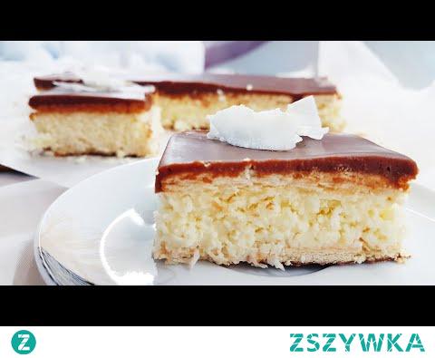 Kokosowe ciasto bounty bez pieczenia - pyszne i łatwe do zrobienia | Słodki Blog