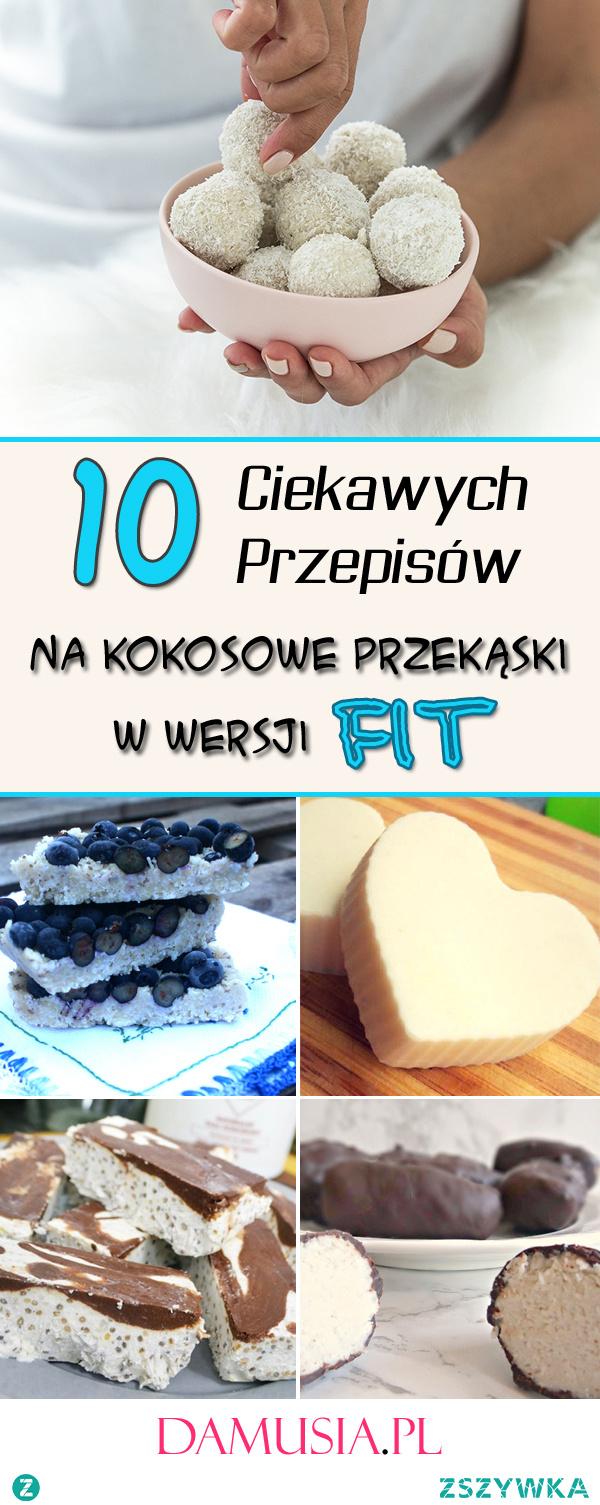 10 Super Przepisów na Kokosowe Przekąski w Wersji FIT