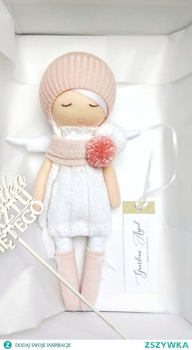 aniołek prezent na chrzest