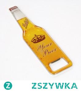 Otwieracz do butelek z naklejką 3D - otwieracz reklamowy
