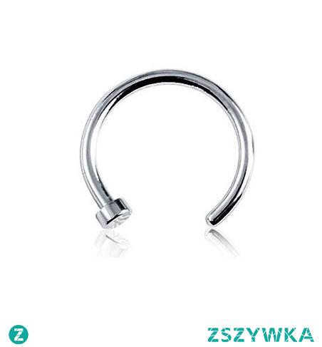 Kolczyk otwarte kółko -> Kliknij w zdjęcie, by przejść do sklepu -> Iron-Lady.pl