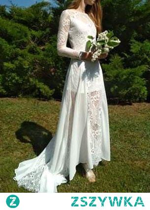 Do sprzedania przepiękna suknia ślubna koronkowa. Więcej informacji po kliknieciu w zdjęcie ;)