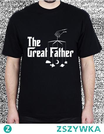 The Great Father koszulka prezent dla taty Dzień Ojca