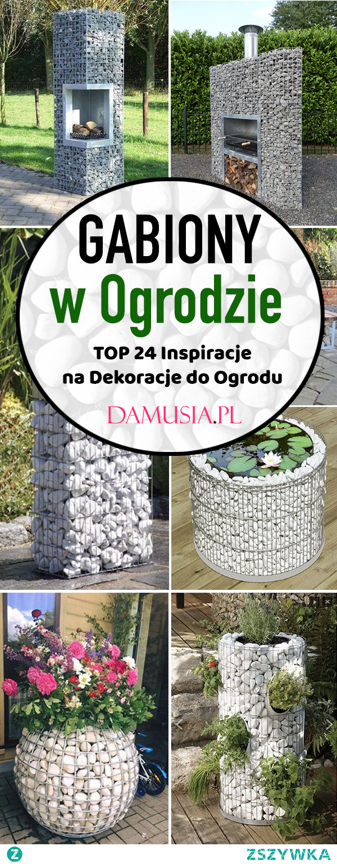 Gabiony w Ogrodzie – TOP 24 Inspiracje na Dekoracje Gabionowe do Ogrodu