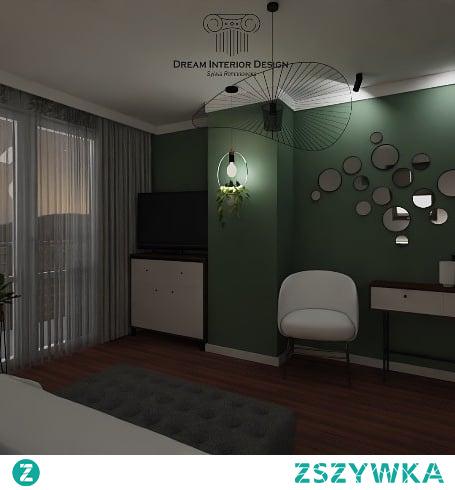 "sypialnia "" Zielono Mi """