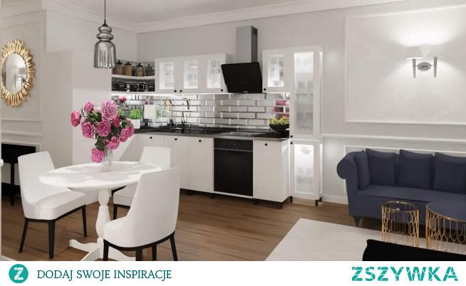 Mieszkanie w stylu glamour  Chcesz mieszkać pięknie oraz wygodnie zapraszam do współpracy razem stworzymy projekt idealny