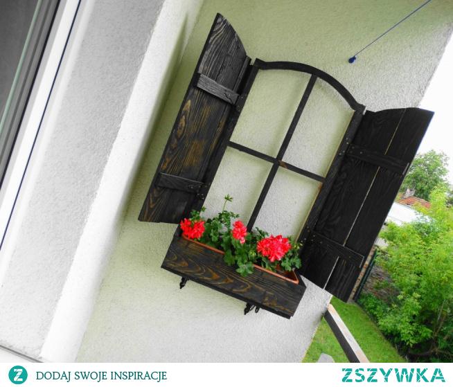 Balkonowa okiennica – diy. Nasza mała loggia zyskała nowy ozdobnik ;-)