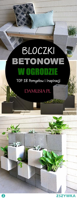 Bloczki Betonowe w Ogrodzie – TOP 18 Pomysłów na Zastosowanie Bloczków Betonowych w Ogrodnictwie