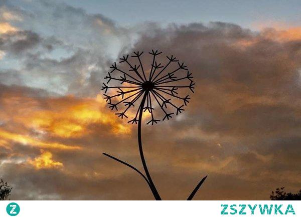 Dmuchawiec - dekoracja ogrodowa